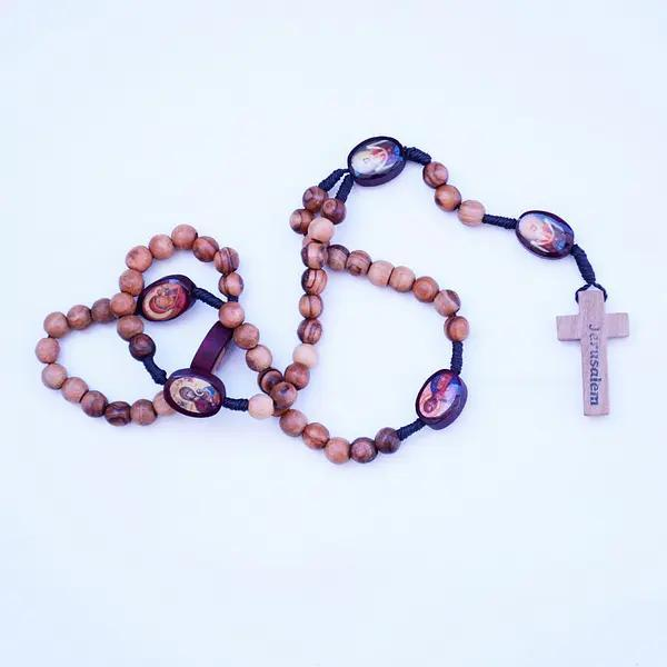 Hand Made Rosary with Icons