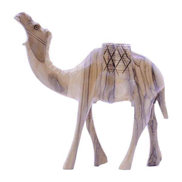 Hand Made Wooden Camel