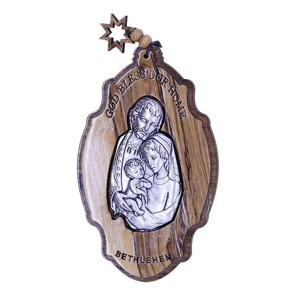 Hand Made Holy Family